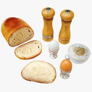 3D 4k bread cup