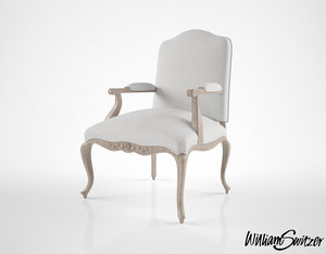 3D william switzer french regency model