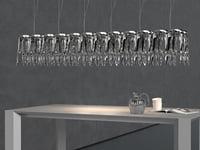 3D lq chandelier
