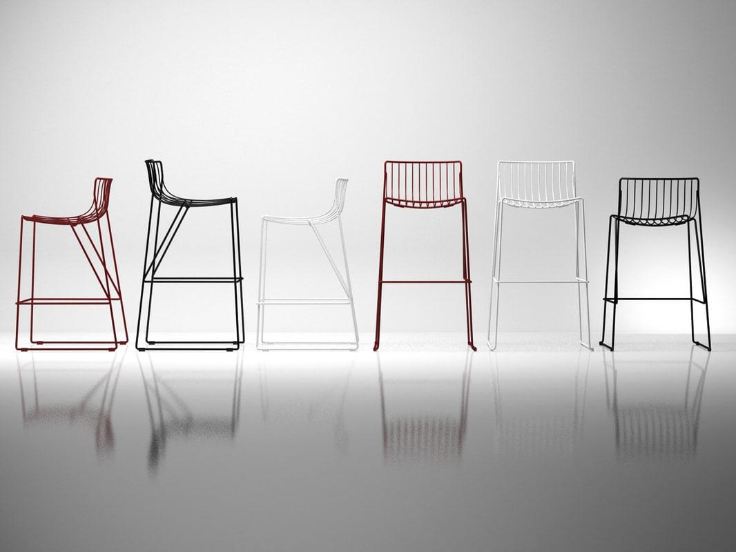 tio bar stool 3D
