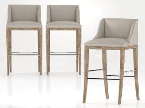 3D metro bar stool