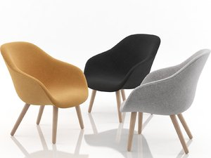 lounge chair aal82 3D