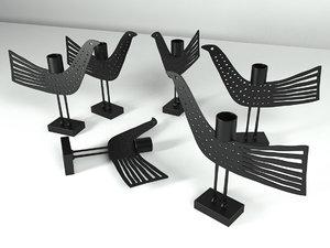 dotbird 3D model