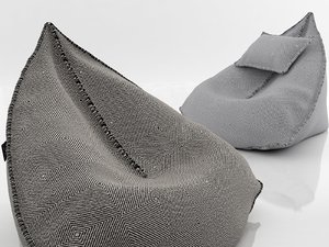 3D model sail bean bag