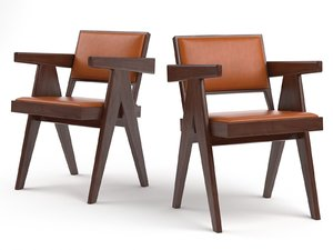 conference chair n 3D