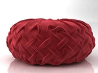 3D pintuck pillow n