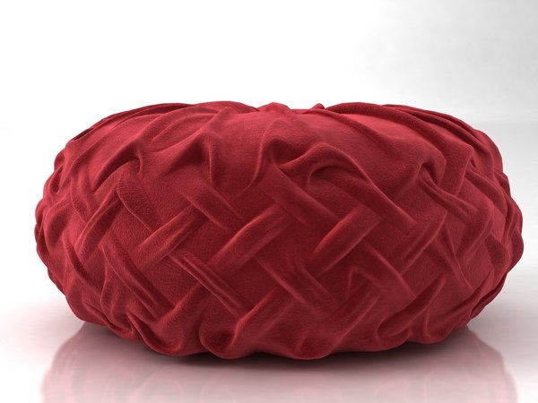 3D pintuck pillow n
