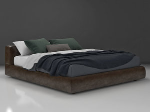 bolton bed 01 3D model