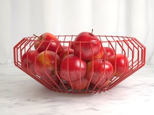 3D cape wire bowls model
