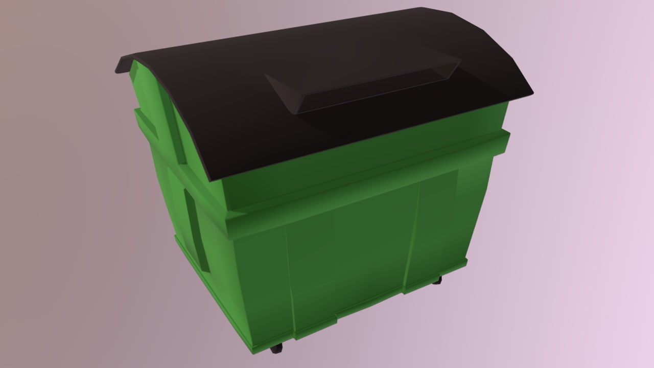 trash container model