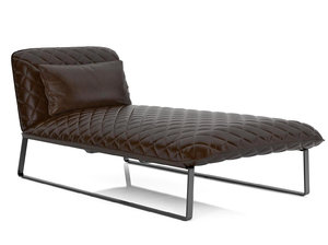 3D model kekke chaise longue