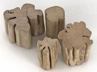 brick xs s m 3D model