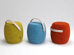 3D carry stool model