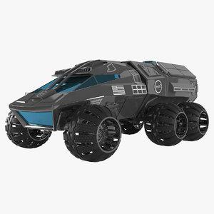 3D model nasa mars rover