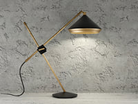shear table lamp 3D model