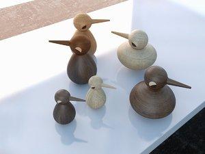 birds architectmade model
