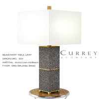 beauchamp table lamp 3D