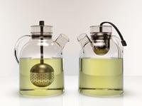 teapot kettle 3D model