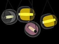 capsula brokis 3D model