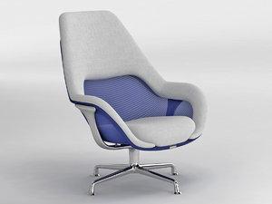 sw 1 lounge 3D model