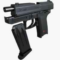 usp compact 3D model