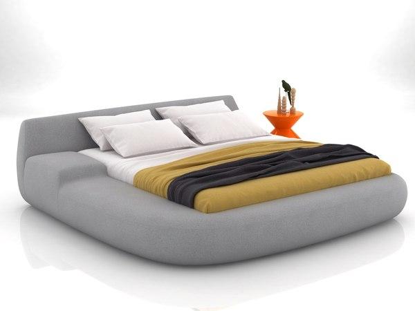 big bed 01 3D