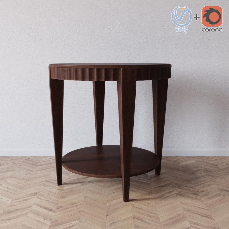3D voyage table selva model