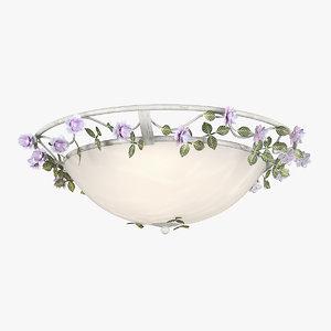 chandelier 785530 aiola lightstar 3D model
