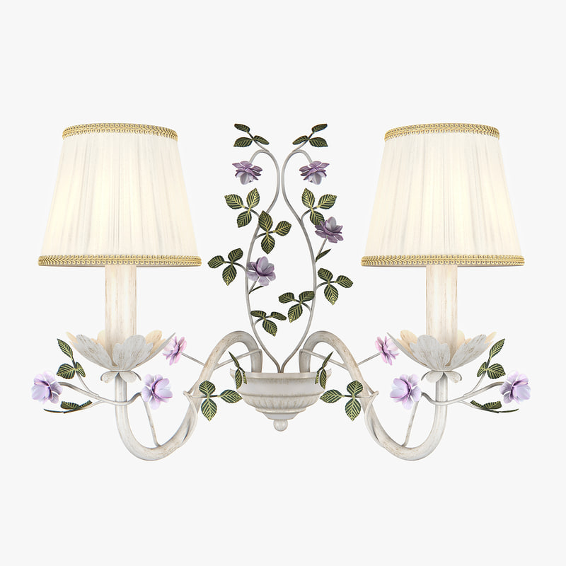 3D model sconce 785620 aiola lightstar
