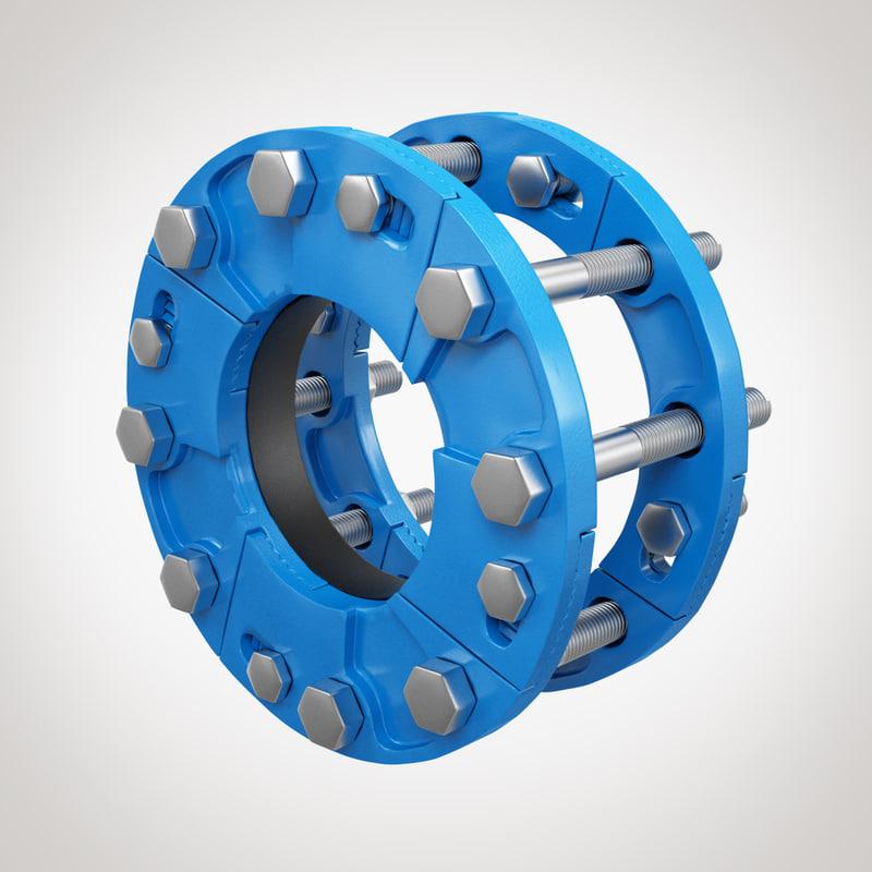 dz fittings 3D model