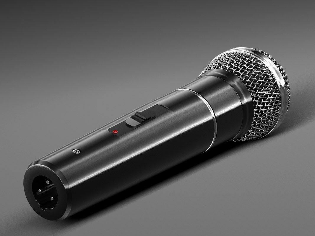 mic microphone 3D