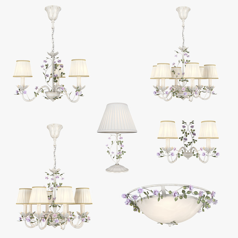 3D model chandelier aiola lightstar lamp