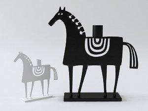 3D model swedish horse
