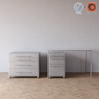 chest table topdeq 3D model