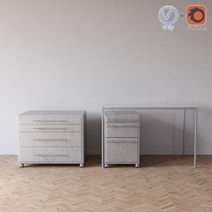 chest table topdeq 3D model