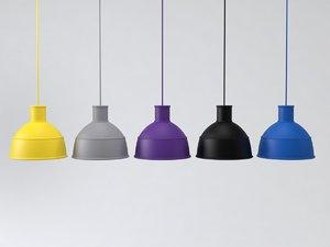 3D unfold lamp model