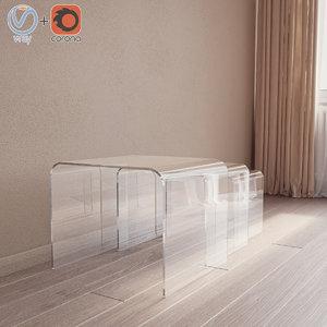 valet table topdeq 3D model