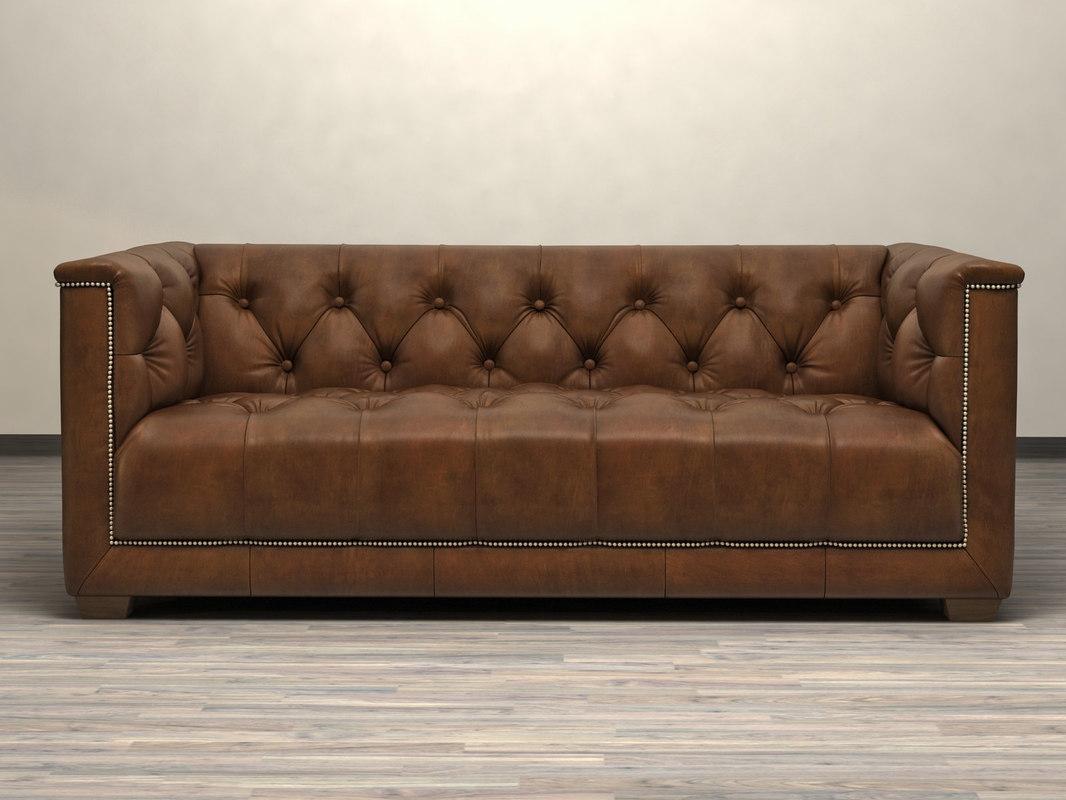 6 savoy sofa 3D model