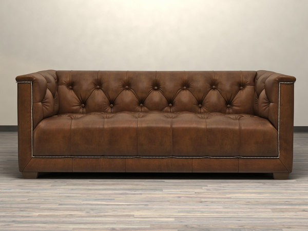 6 savoy sofa 3D model