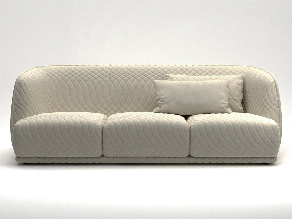 3D Redondo Sofa 245