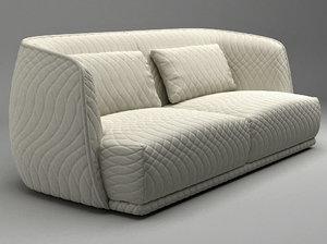 redondo sofa 215 3D model