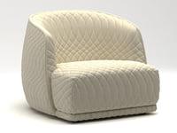 redondo armchair 3D