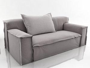 3D fedde sofa