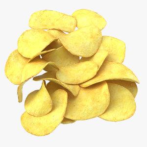 potato chips 01 model