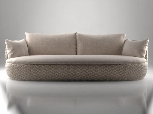 3D bart sofa model