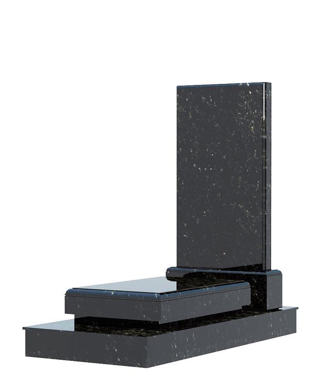 grave gravestone 3D