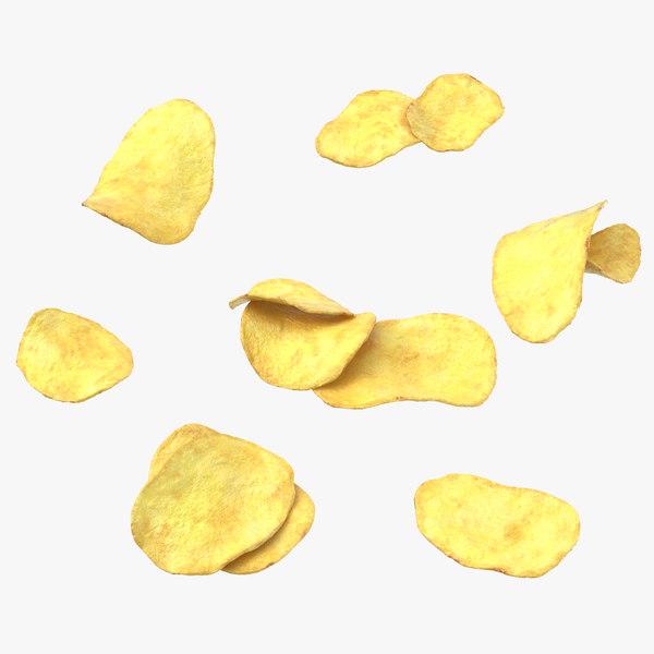 potato chips 03 model