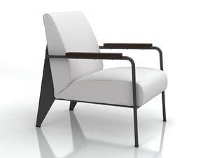 fauteuil salon 3D