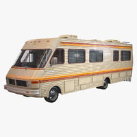 ready fleetwood bounder 1986 3D model