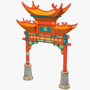 gate china 3D
